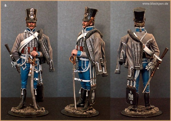 French Hussar, 13th Regiment, 1812
